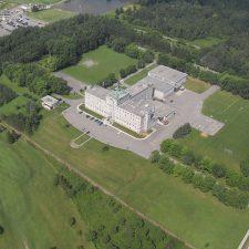 Photo aérienne du Collège de Champigny