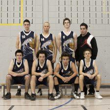 Équipe de basketball juvénile masculin