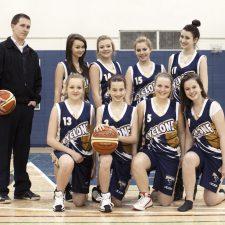 Équipe de basketball cadet féminin