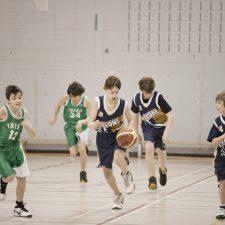 Match de basketball masculin
